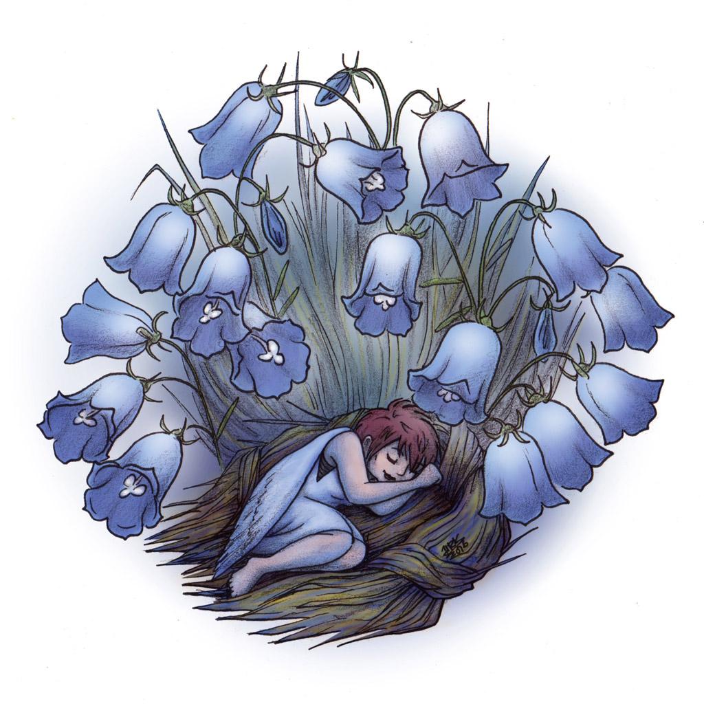 taidekirja - kuvituskuva - keiju - kuvittaja - art book - illustration - fairy - illustrator - Hanna-Riikka Art