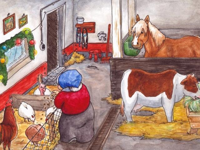 lastenkirjan kuvitus - kuvittaja - children's book illustration - illustrator - Hanna-Riikka Art
